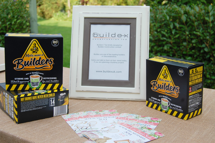 Builders Tea provided by Buildex Construction Limited
