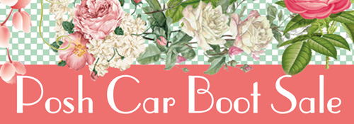 Posh car boot logo