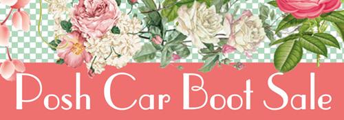 Posh car boot logo